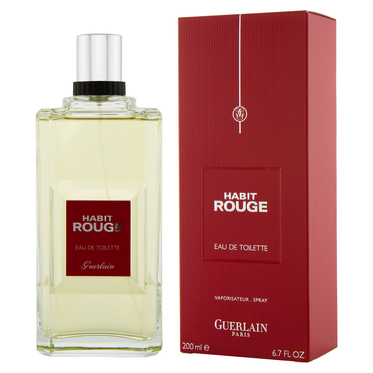 guerlain habit rouge panska edt 200 ml. Black Bedroom Furniture Sets. Home Design Ideas