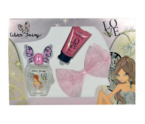 Winx Fairy Couture Flora EDT 100 ml + BL 75 ml + spona do vlasů W a1ba215364