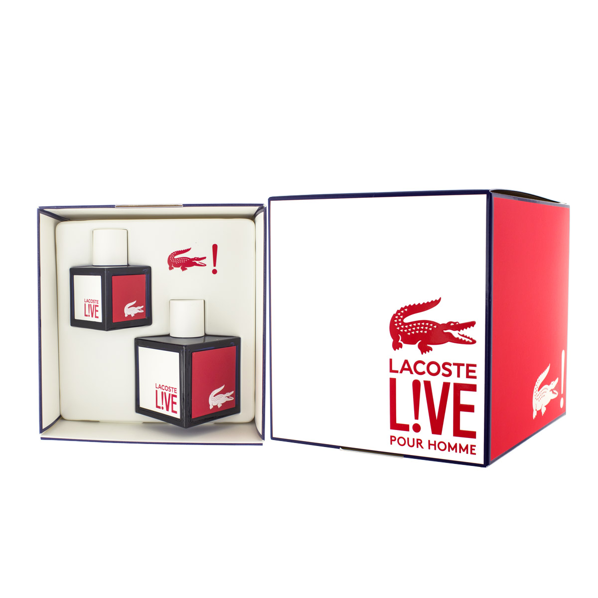 Lacoste Live EDT 100 ml + EDT 40 ml M