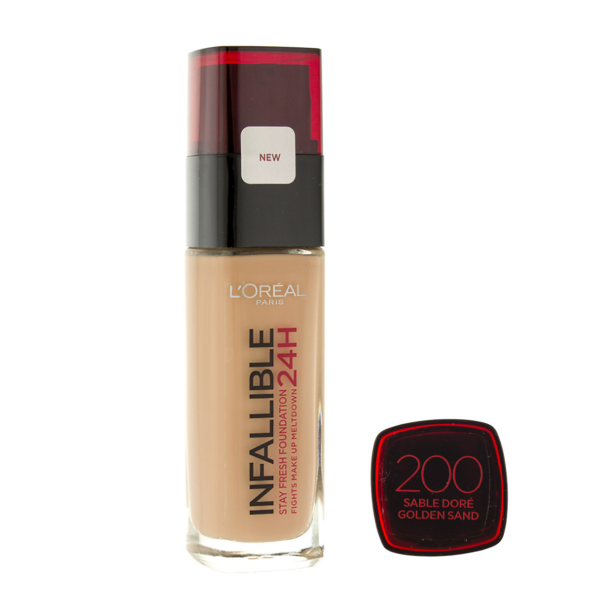 L´Oreal Paris Infallible 24H make-up (200 Golden Sand) 30 ml