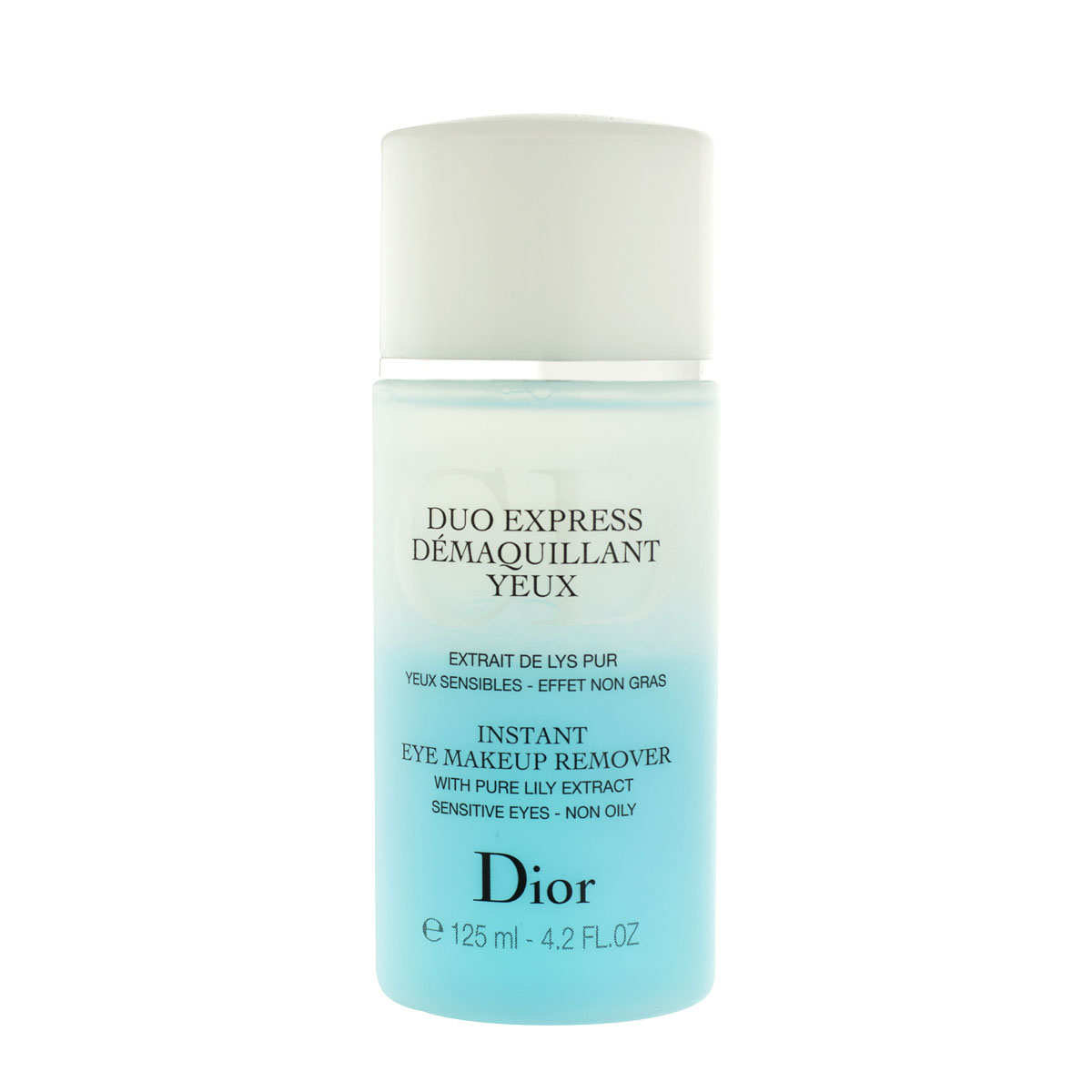Dior Christian Duo Express Demaquillant Yeux Eye Make-Up Remover 125 ml
