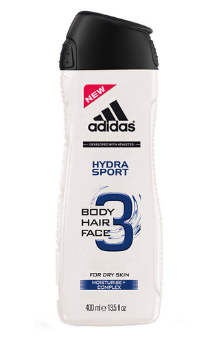 Adidas 3in1 Hydra Sport Shower Gel 250ml M