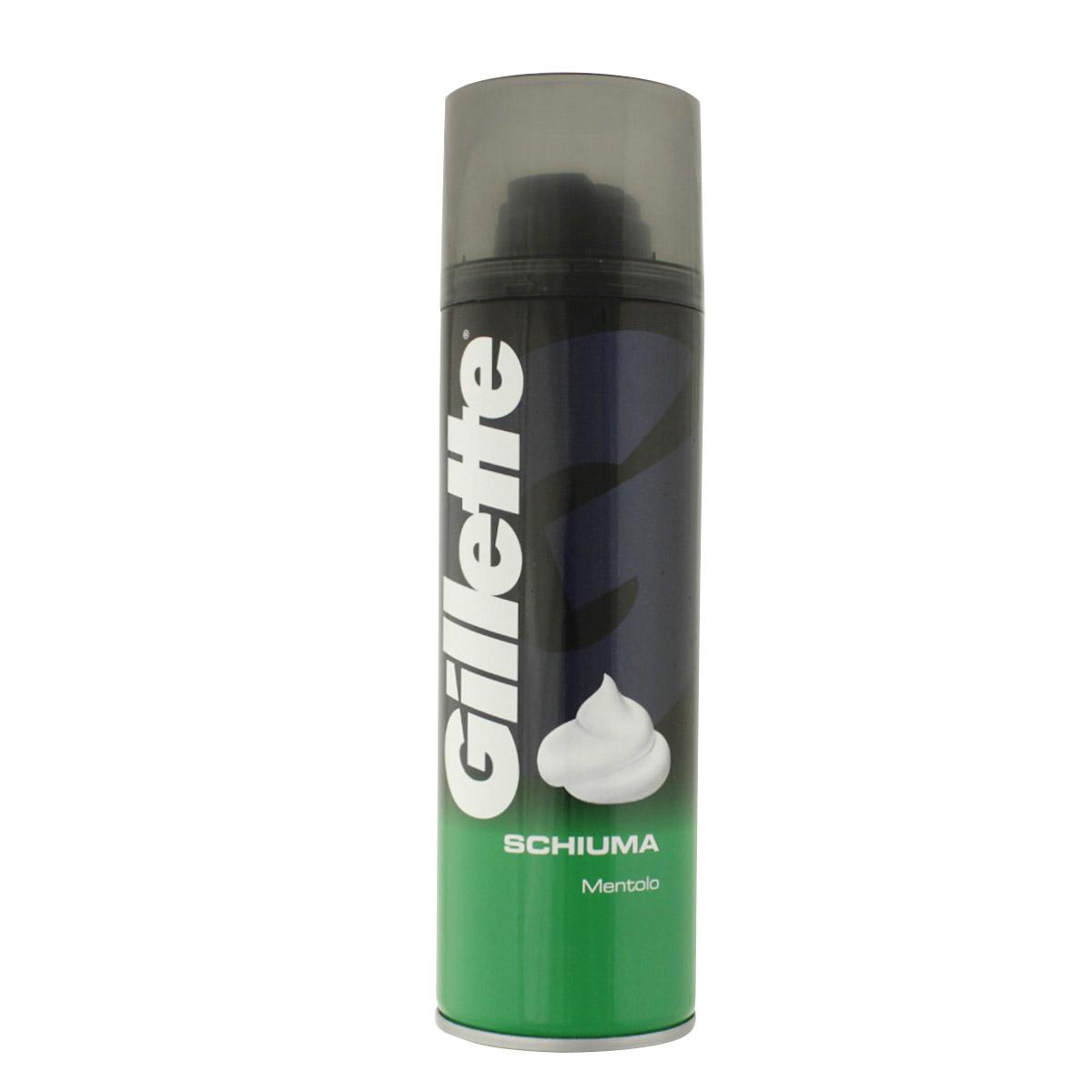 Gillette Menthol pěna na holení 300 ml M