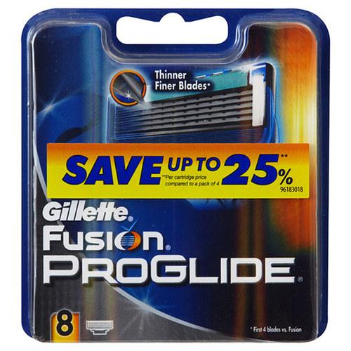 Gillette Fusion Proglide náhradní břity na holení 8 ks M
