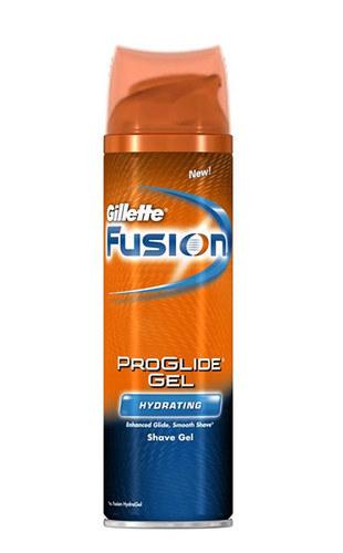 Gillette Fusion Proglide Hydrating gel na holení 200 ml M