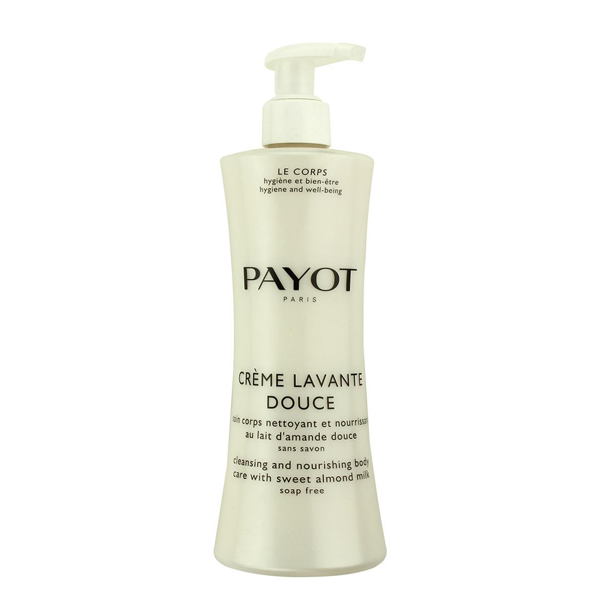 Payot Crème Lavante Douce čisticí a vyživující sprchový krém na tělo, bez mýdla 400 ml