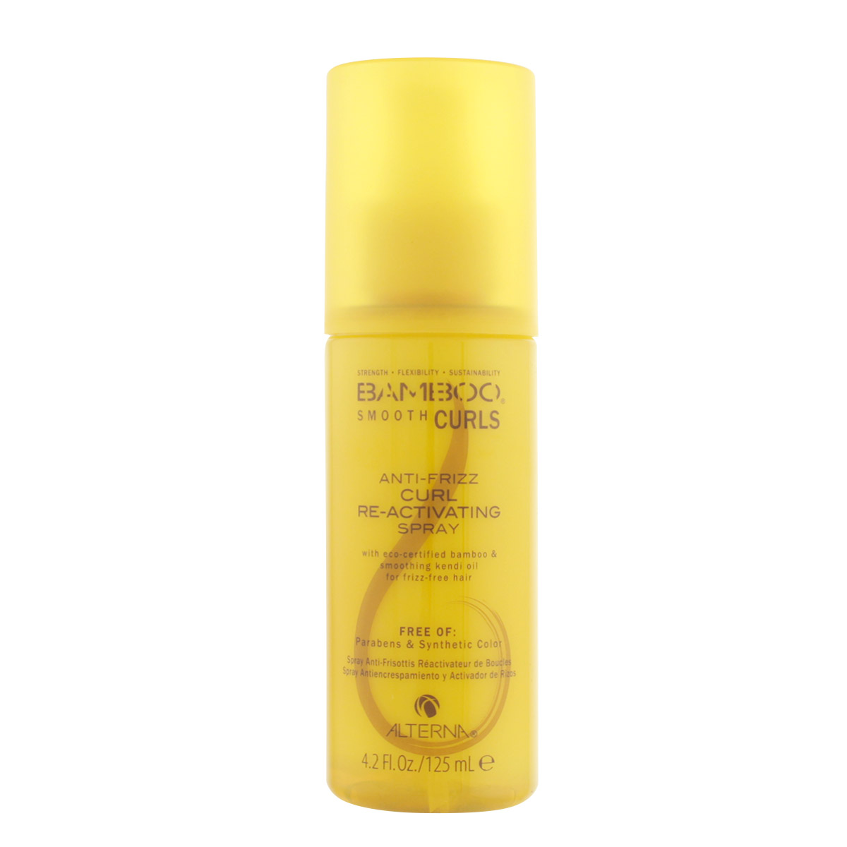 Alterna Bamboo Smooth Anti-Frizz Curl Re-Activating Spray 125 ml