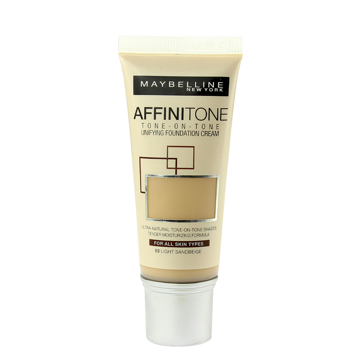 Maybelline Affinitone Unifying Foundation Cream (03 Light Sand Beige) 30 ml