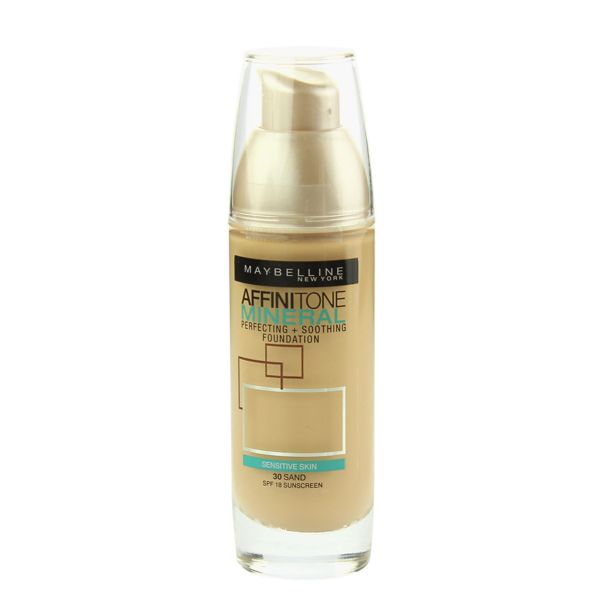 Maybelline Affinitone Mineral Perfecting + Soothing Foundation SPF 18 30 ml