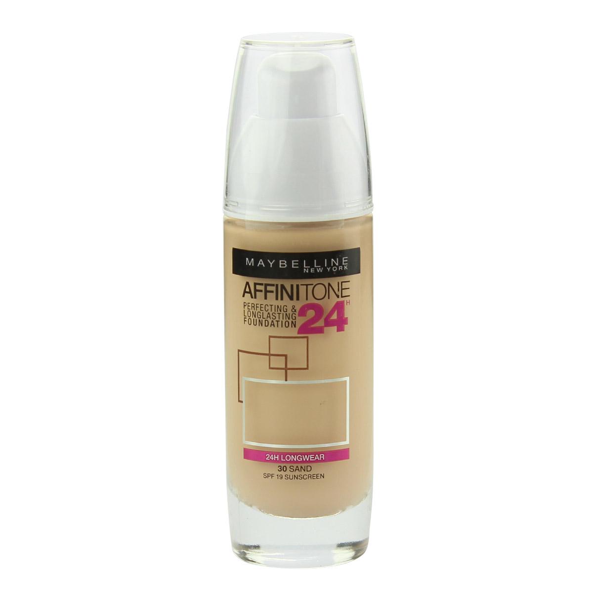 Maybelline Affinitone 24H Perfecting & Longlasting Foundation SPF 19 30 ml