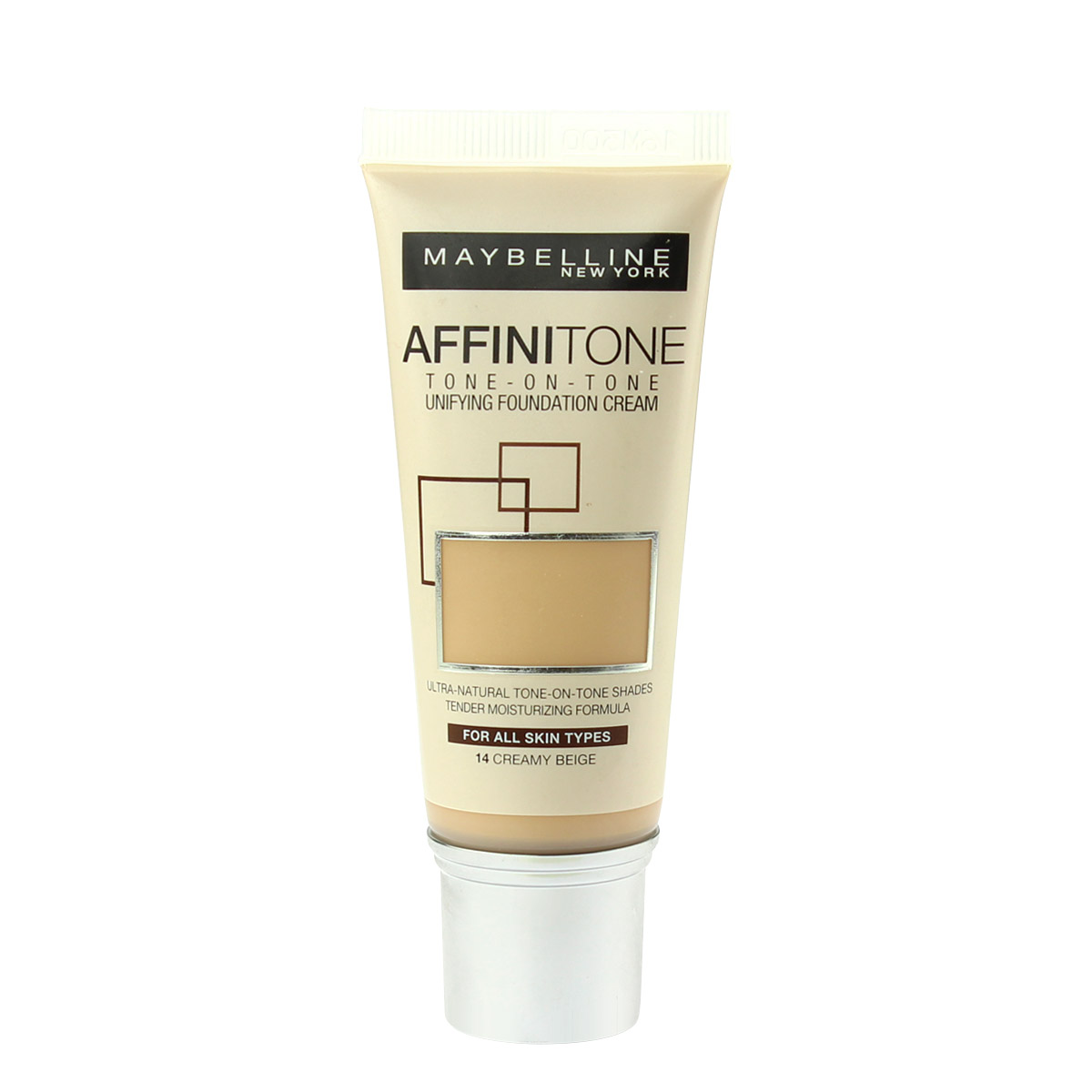 Maybelline Affinitone Unifying Foundation Cream (14 Creamy Beige) 30 ml