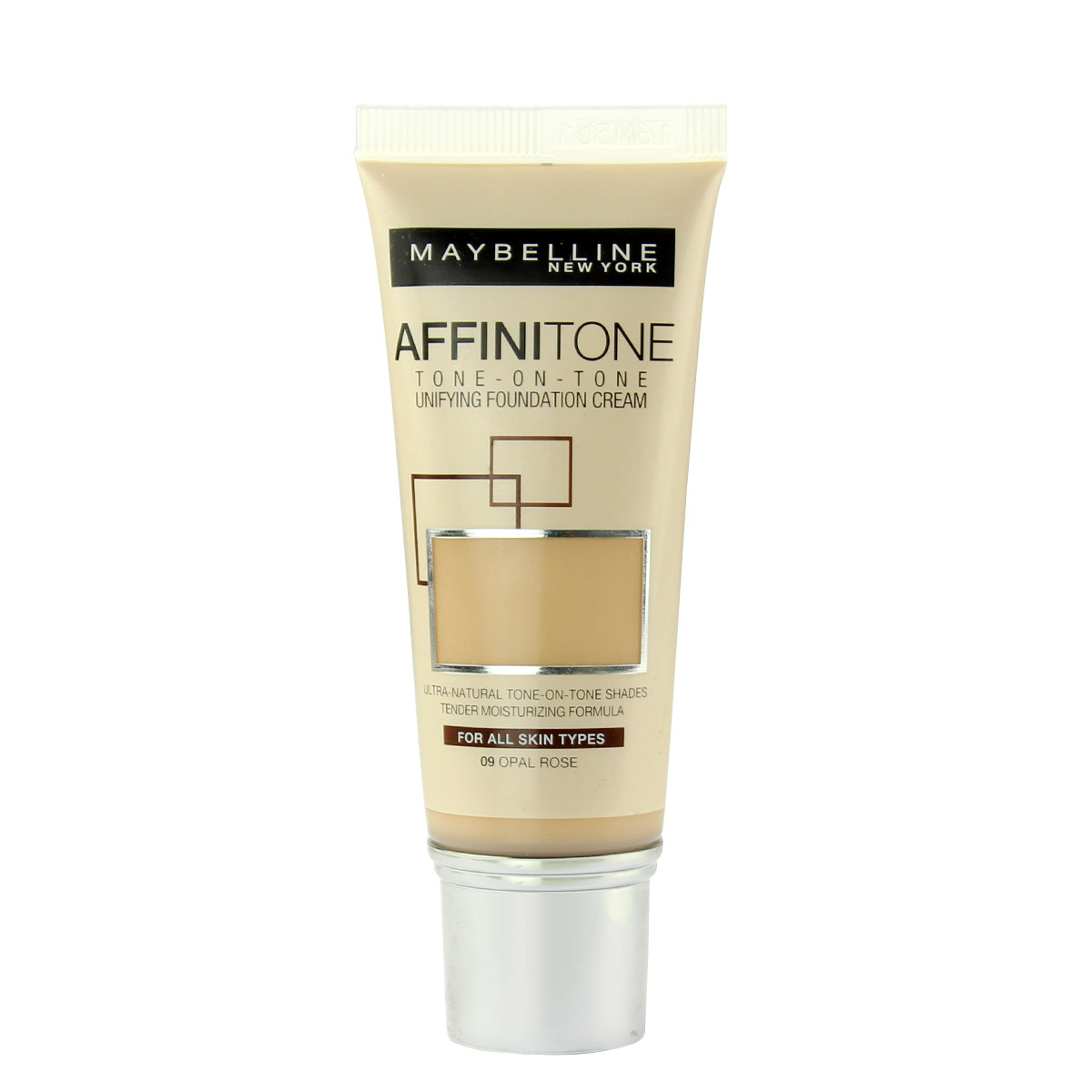 Maybelline Affinitone Unifying Foundation Cream (09 Opal Rose) 30 ml
