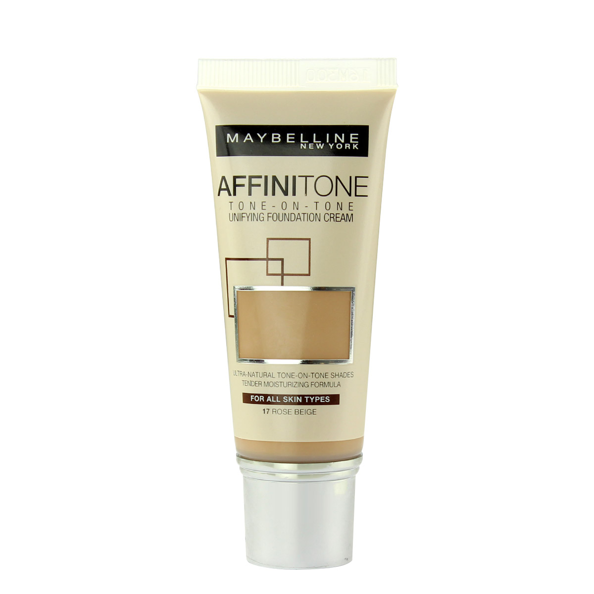 Maybelline Affinitone Unifying Foundation Cream (17 Rose Beige) 30 ml
