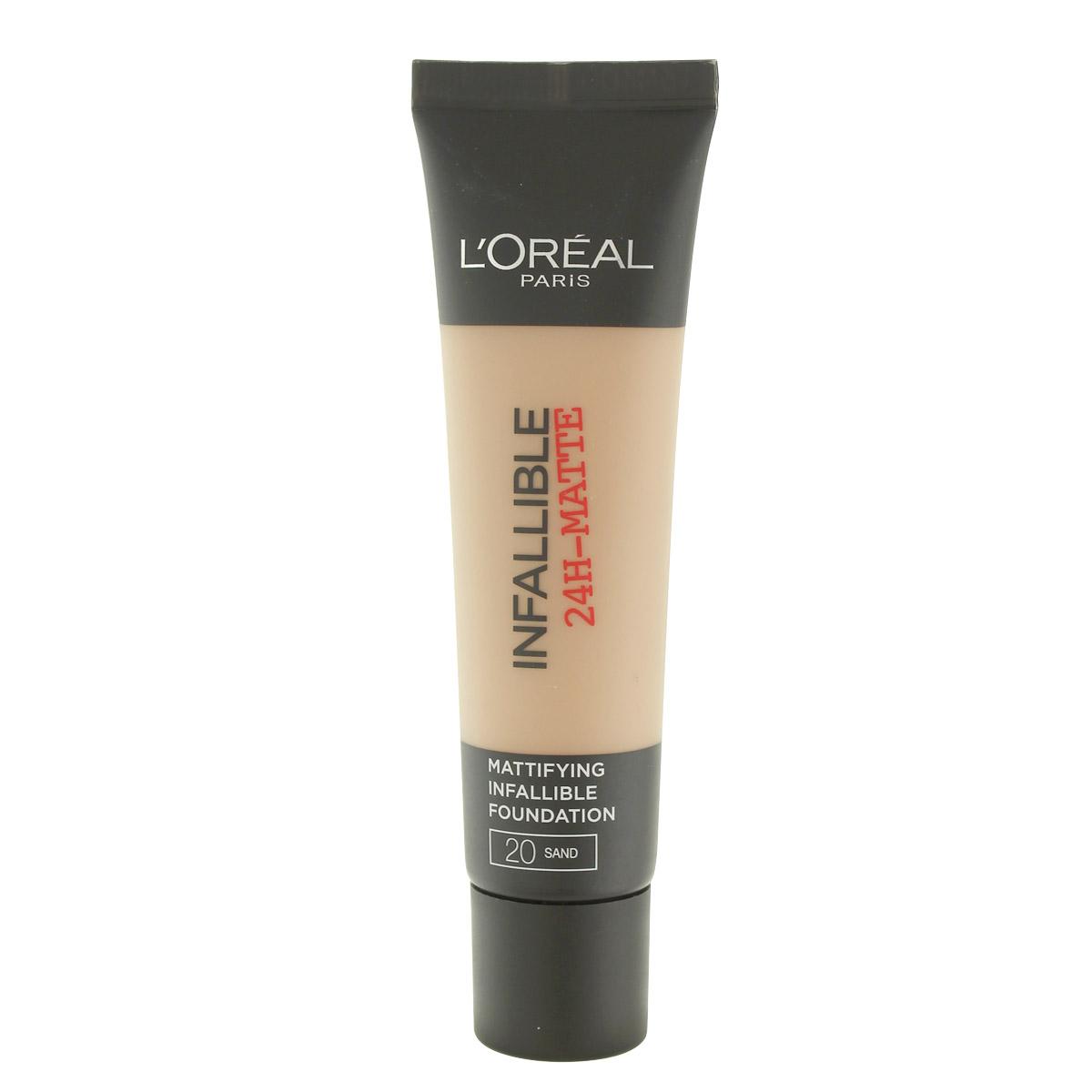 L´Oreal Paris Infallible 24H-Matte make-up (20 Sand) 30 ml