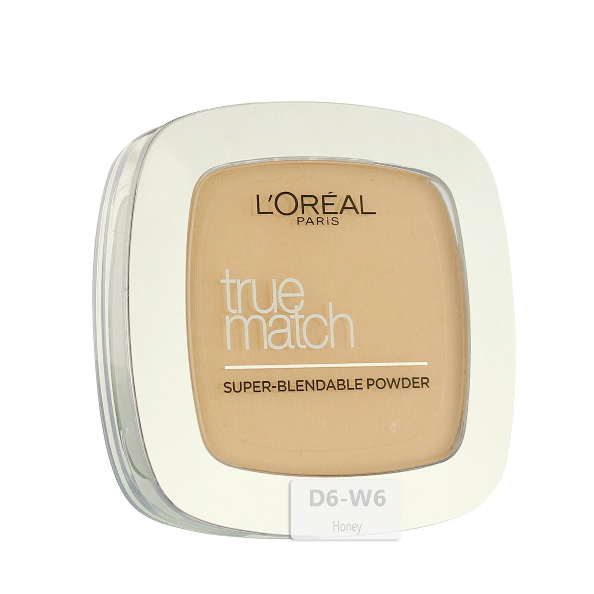 L´Oreal Paris True Match Super-Blendable Powder (D6/W6 Honey) 9 g