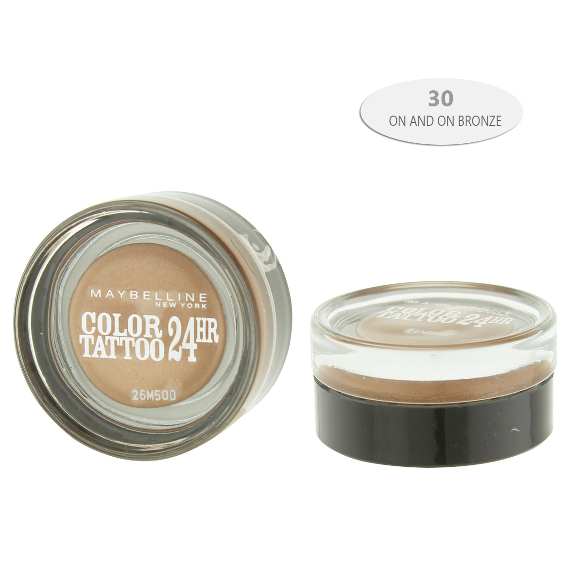 Maybelline Color Tattoo 24 HR Gel-Cream Eye Shadow (30 On and on Bronze) 3,5 ml