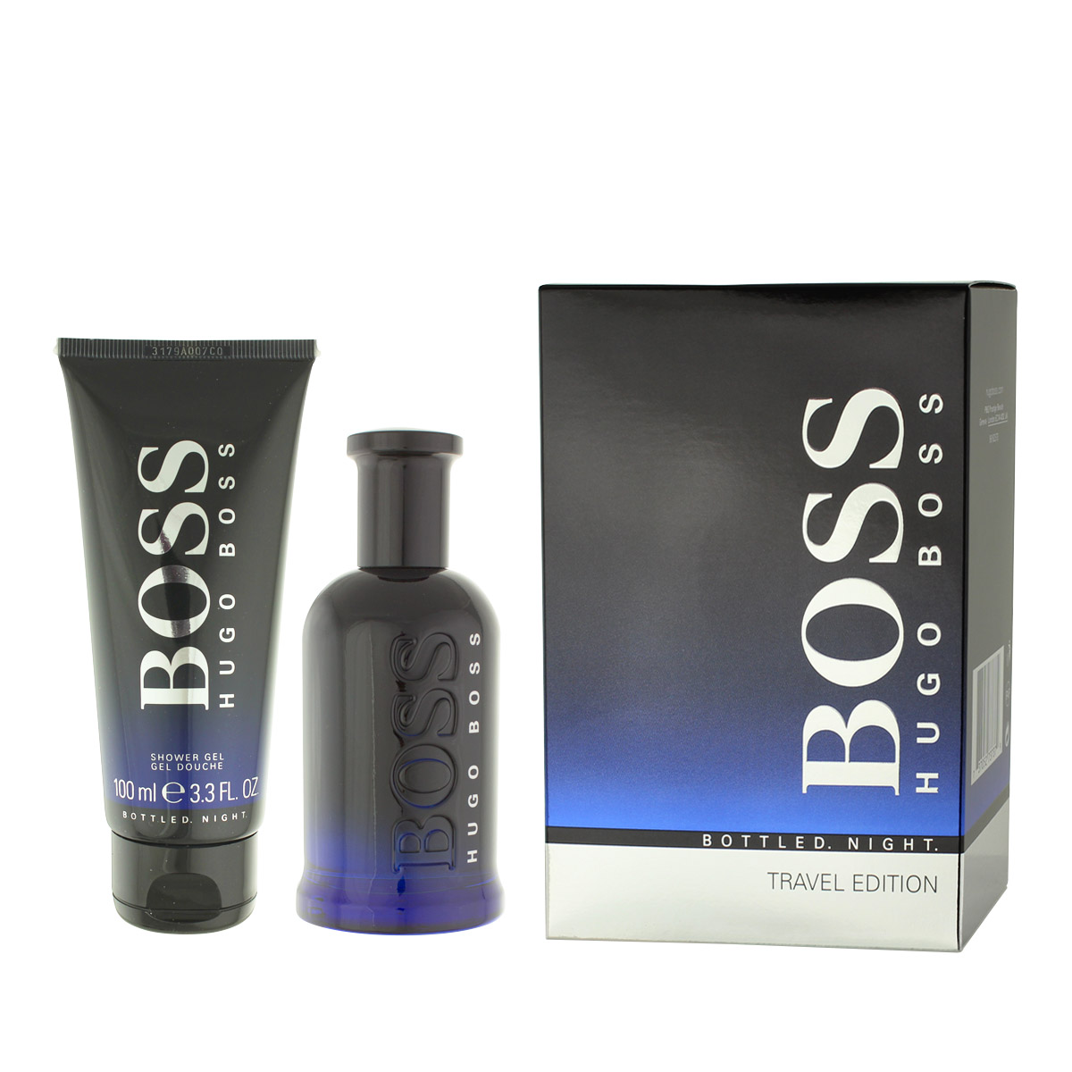 Hugo Boss Bottled Night EDT 100 ml + SG 100 ml M