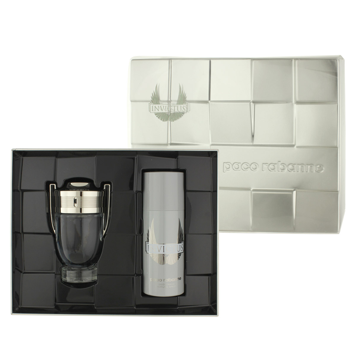 Paco Rabanne Invictus EDT 100 ml + DEO ve spreji 150 ml M
