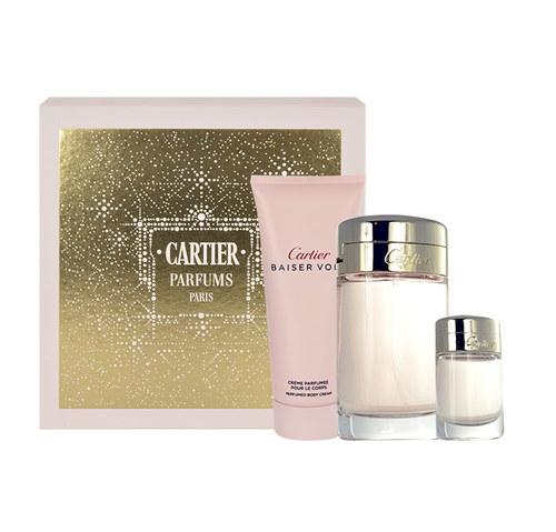 Cartier Baiser Volé EDP 100 ml + EDP MINI 6 ml + BC 100 ml W