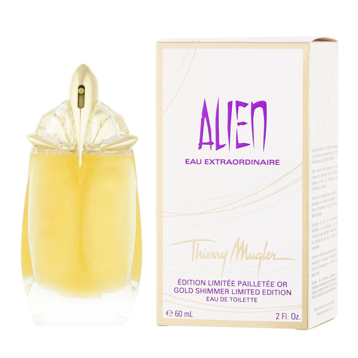 Thierry Mugler Alien Eau Extraordinaire Gold Shimmer EDT 60 ml W