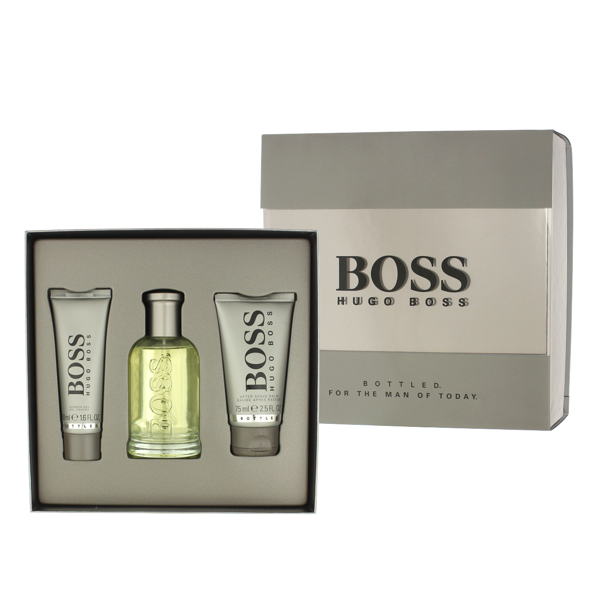 Hugo Boss Bottled No 6 EDT 100 ml + ASB 75 ml + SG 50 ml M