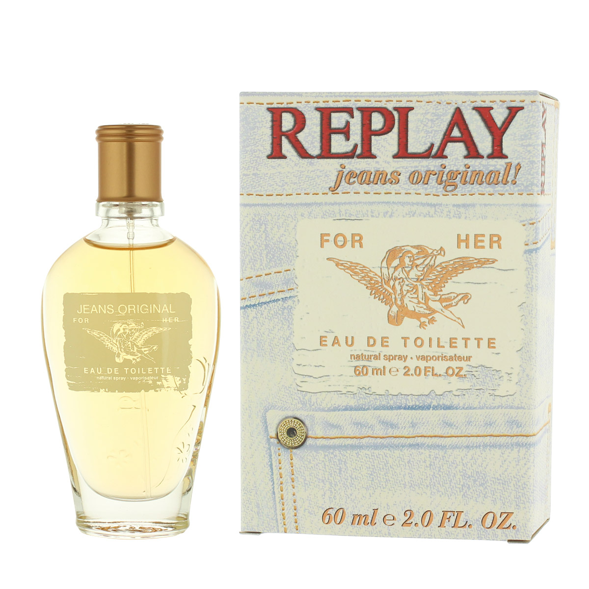 Replay Jeans Original for Her EDT 60 ml W