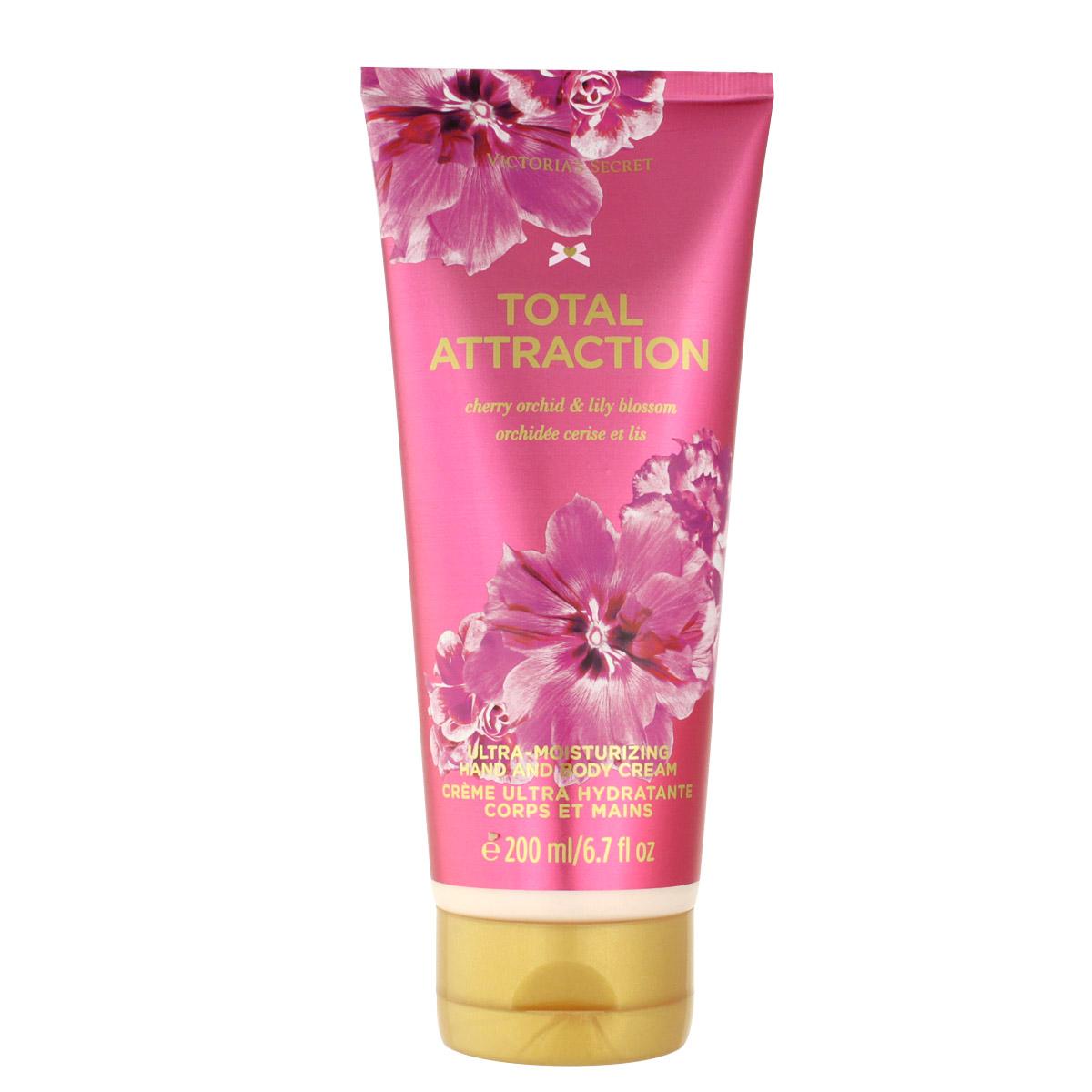 Victoria's Secret Total Attraction krém na ruce i tělo 200 ml W