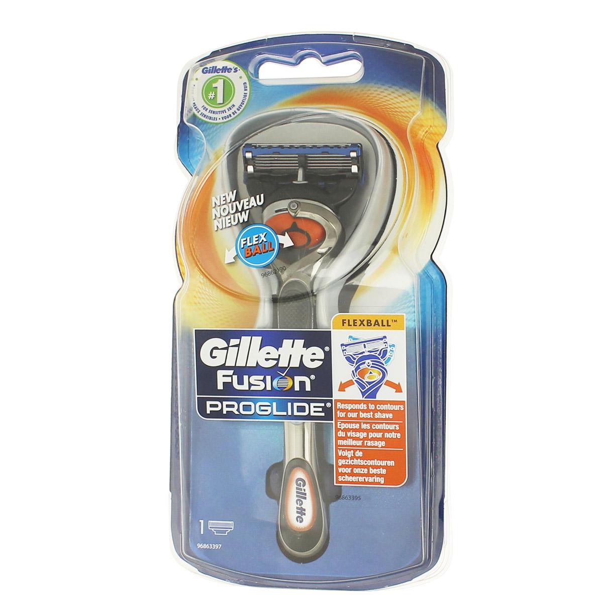 Gillette Fusion Proglide FlexBall holicí strojek s jednou hlavicí M