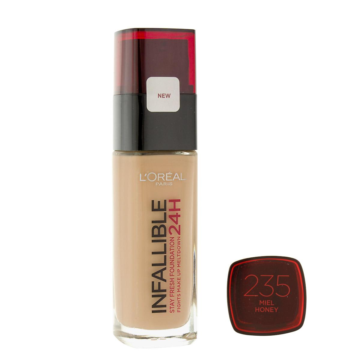 L´Oreal Paris Infallible 24H make-up (235 Honey) 30 ml