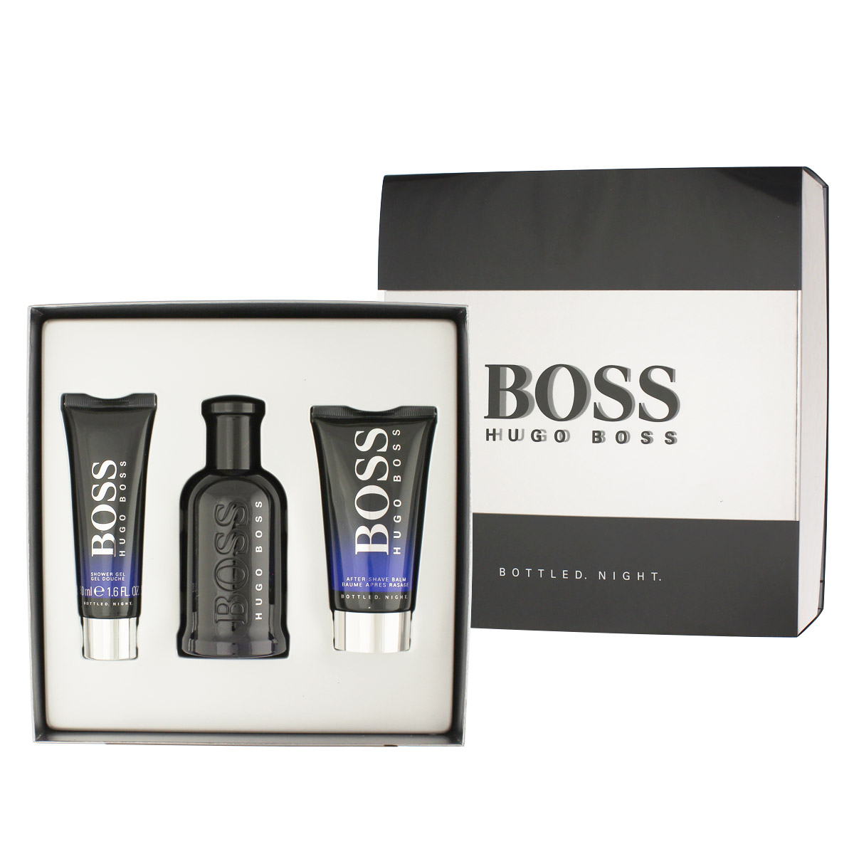 Hugo Boss Bottled Night EDT 100 ml + ASB 75 ml + SG 50 ml M