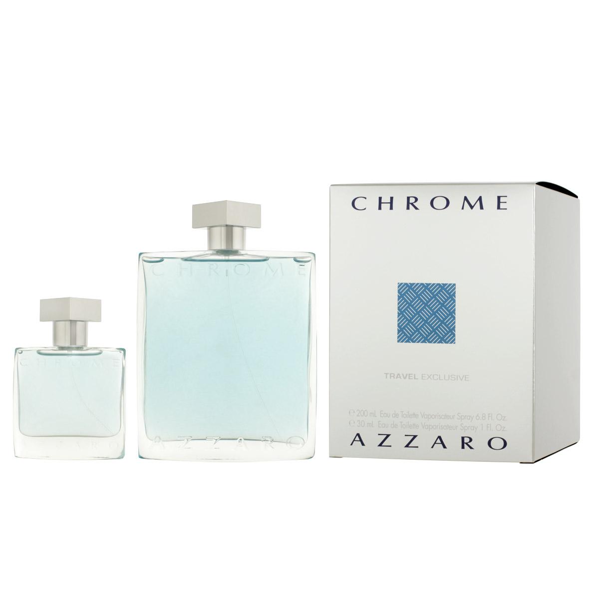 Azzaro Chrome pour Homme EDT 200 ml + EDT 30 ml M
