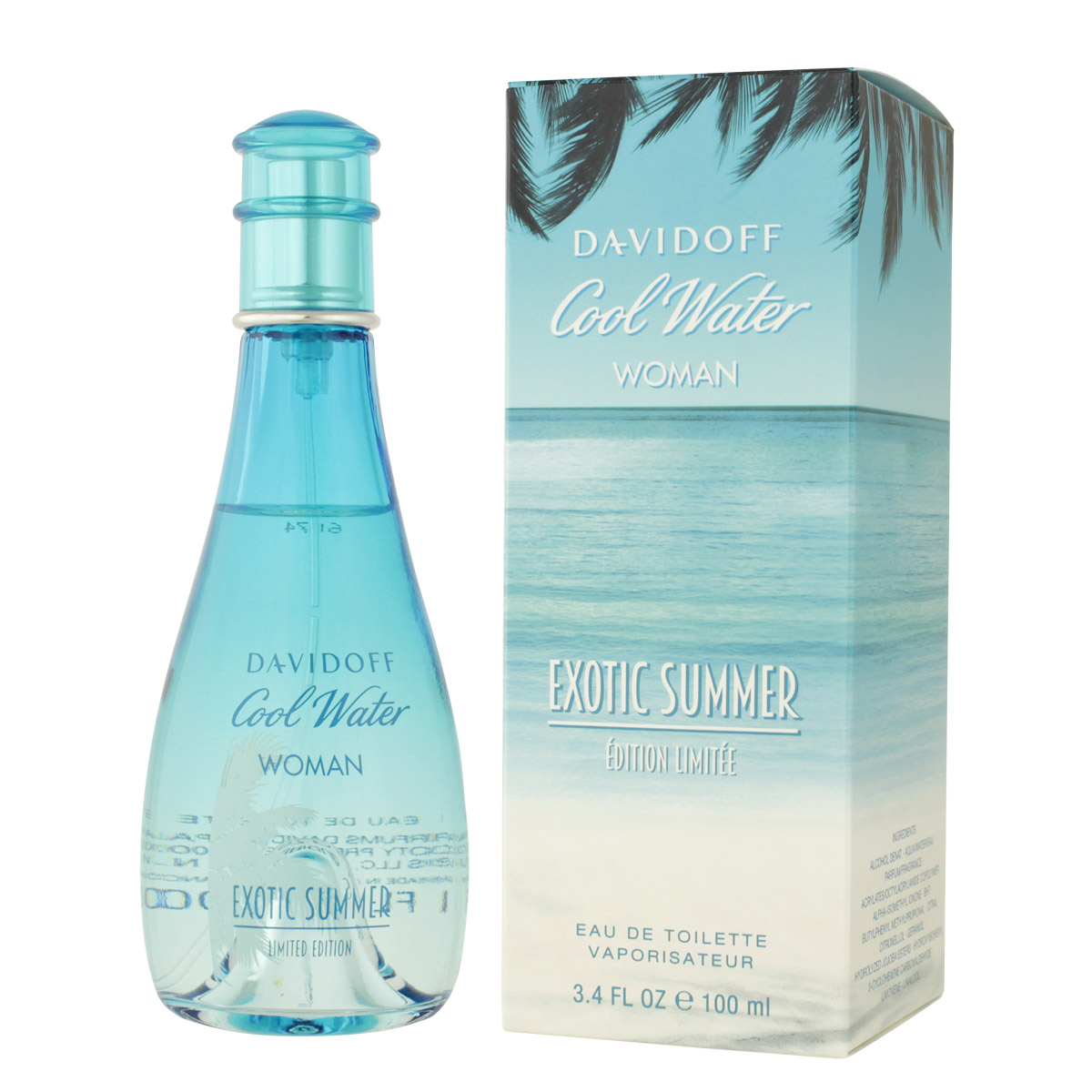 Davidoff Cool Water Woman Exotic Summer EDT 100 ml W