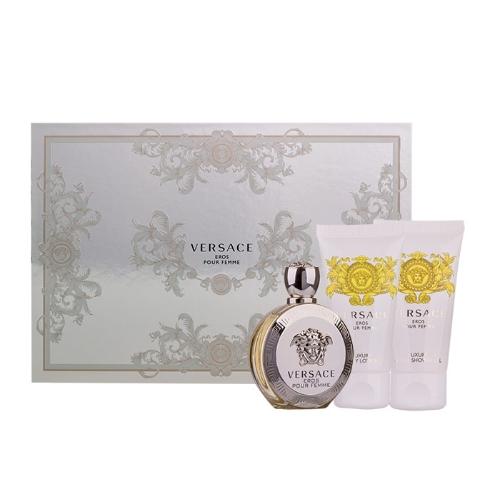 Versace Eros pour Femme EDP 50 ml + SG 50 ml + BL 50 ml W
