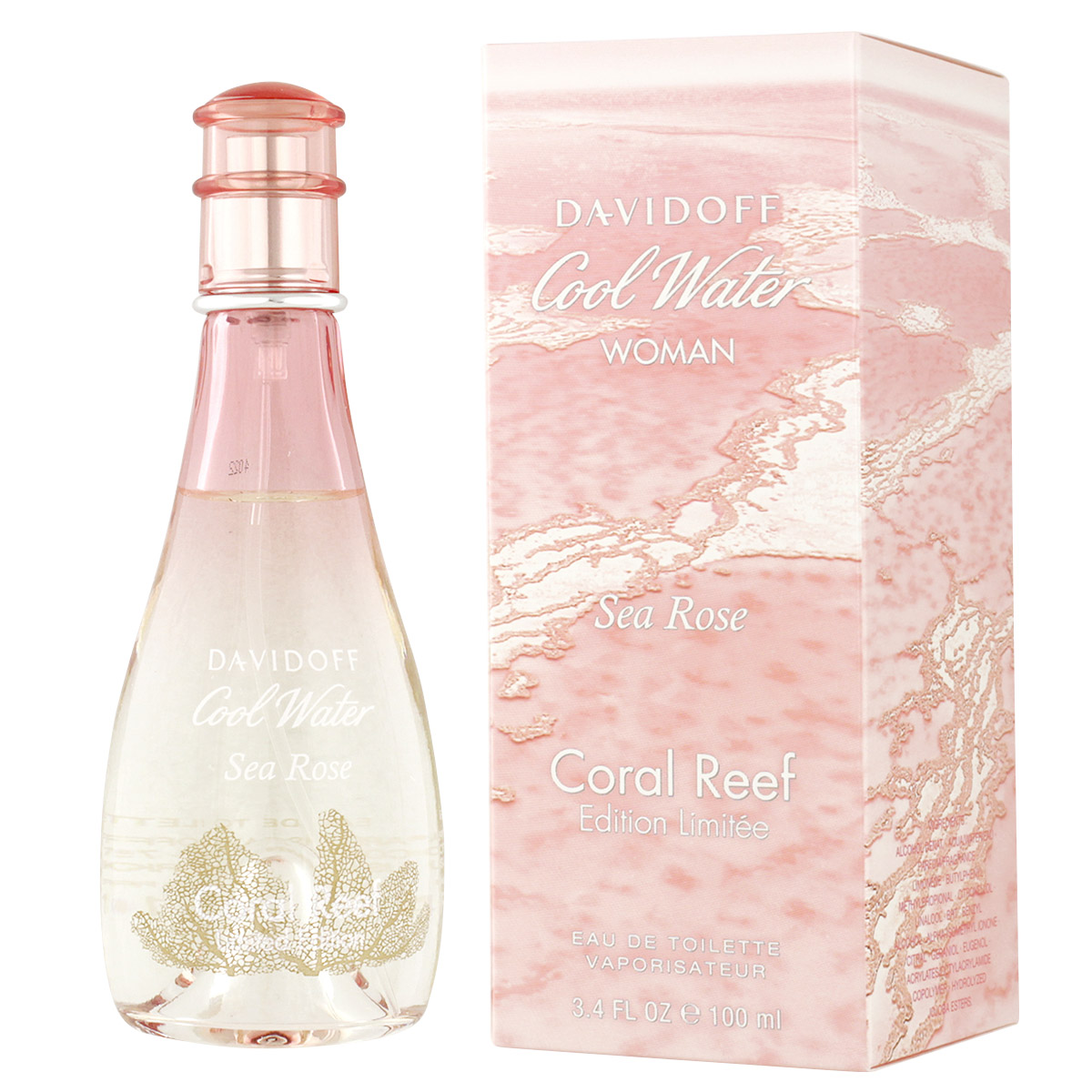 Davidoff Cool Water Sea Rose Coral Reef Edition EDT 100 ml W