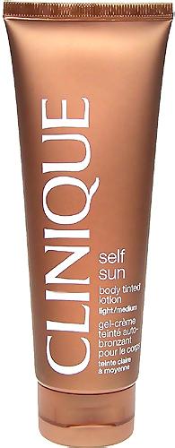Clinique Self Sun Body Tinted Lotion (Light/Medium) 125 ml
