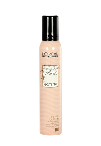 L´Oreal Paris Tecni.Art Hollywood Waves (Spiral Queen) Nourishing Mousse 200 ml