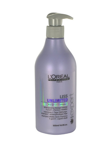 L´Oreal Paris Expert Liss Unlimited Smoothing Shampoo 500 ml