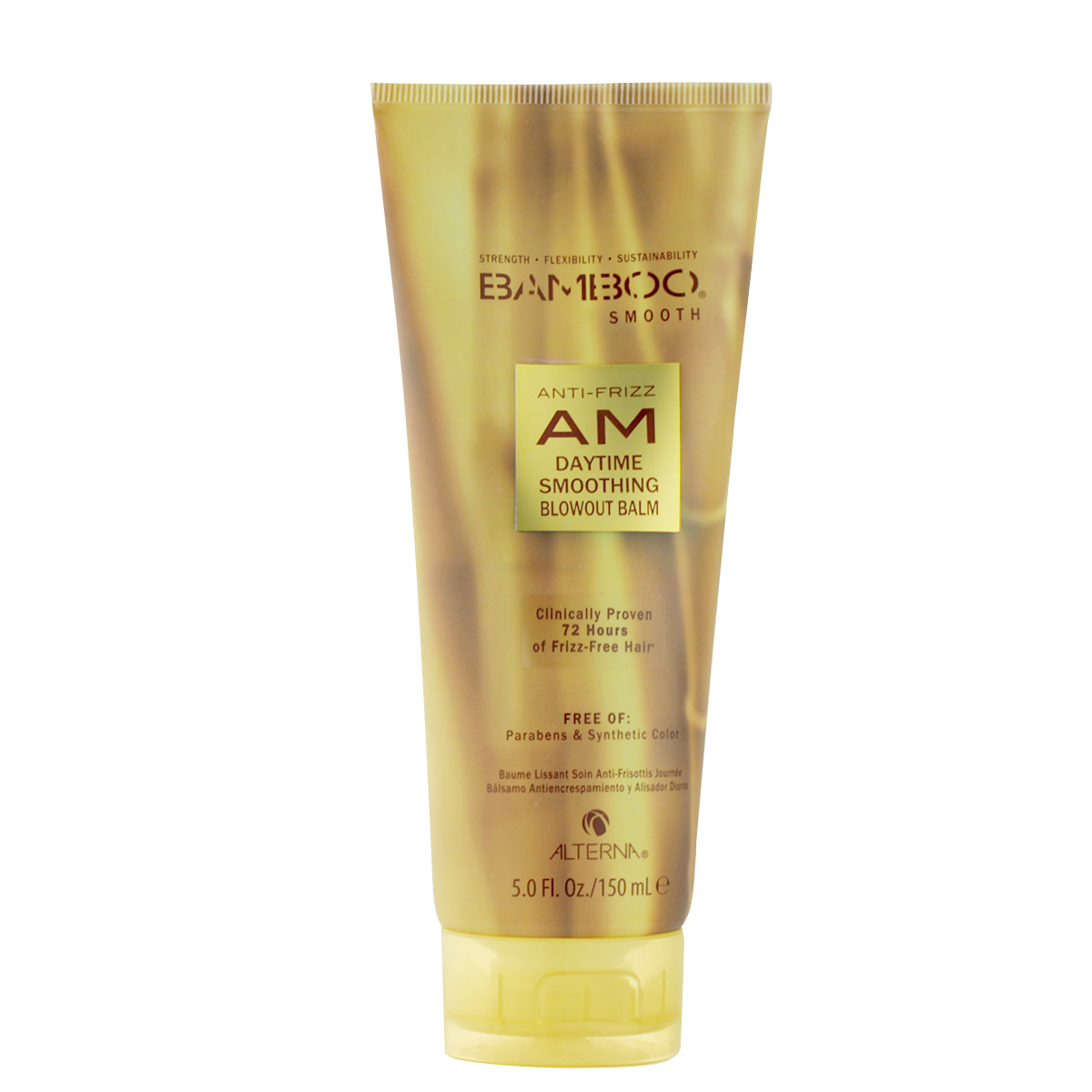 Alterna Bamboo Smooth Anti-Frizz AM Daytime Smoothing Blowout Balm 150 ml