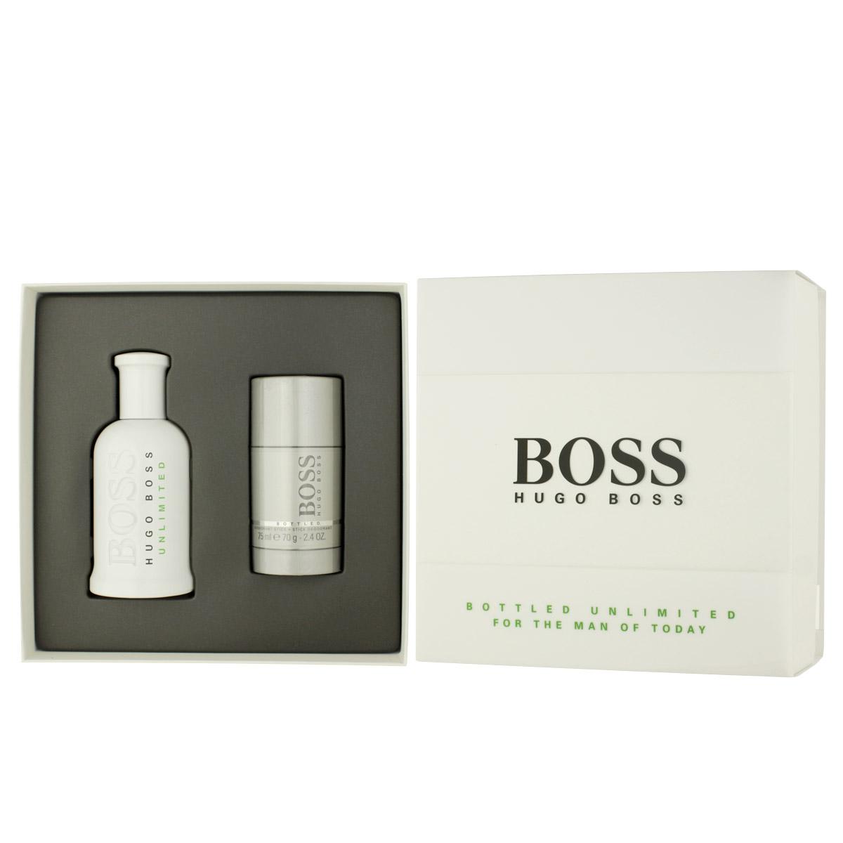 Hugo Boss Bottled Unlimited EDT 100 ml + DST 75 ml M