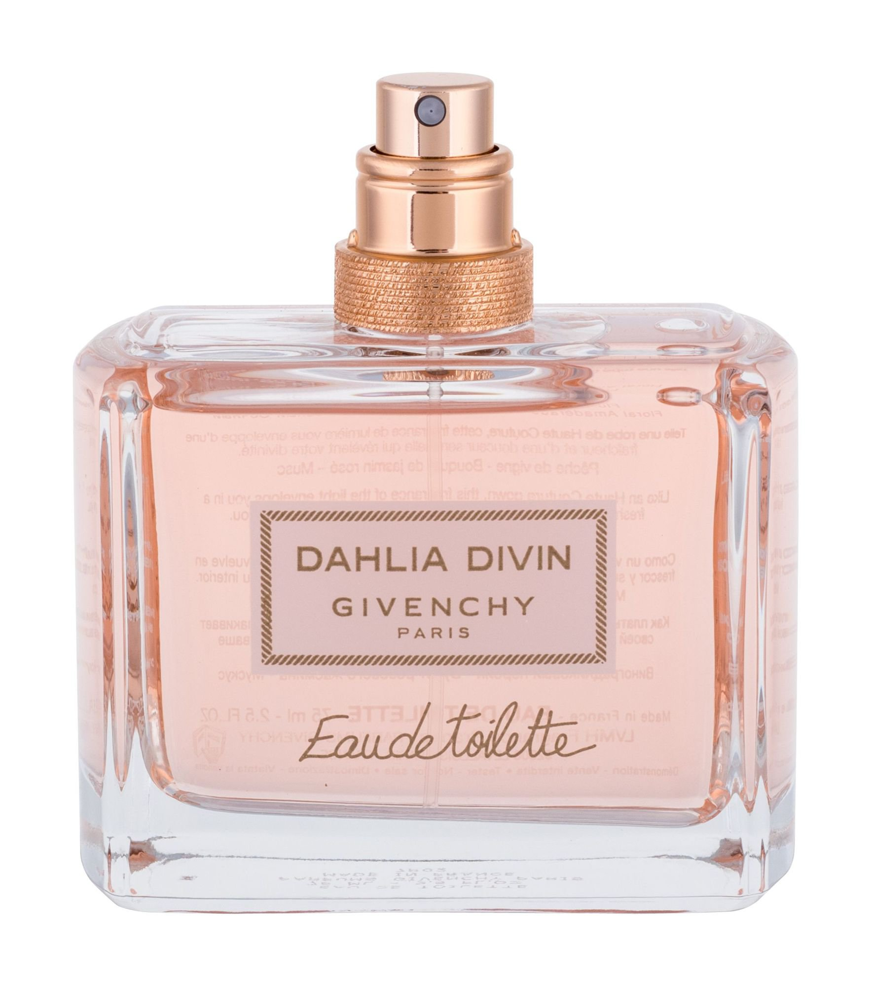 Givenchy Dahlia Divin EDT tester 75 ml W