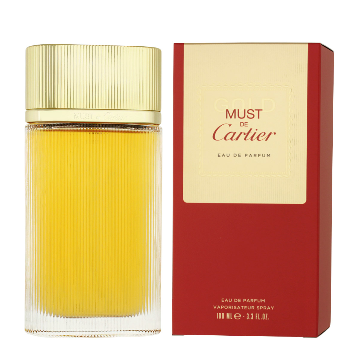 Cartier Must de Cartier Gold EDP 100 ml W