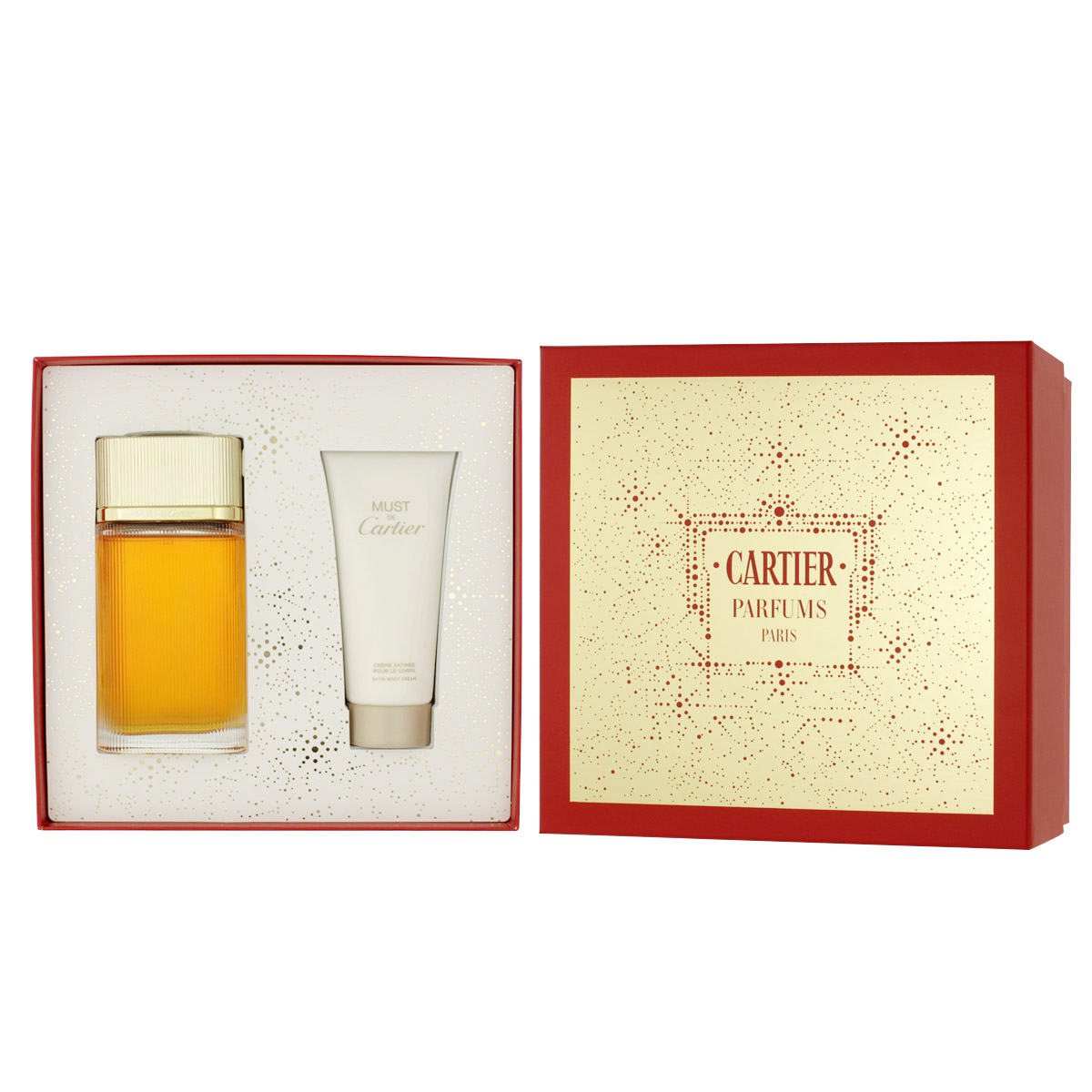 Cartier Must de Cartier Gold EDP 100 ml + BC 100 ml W