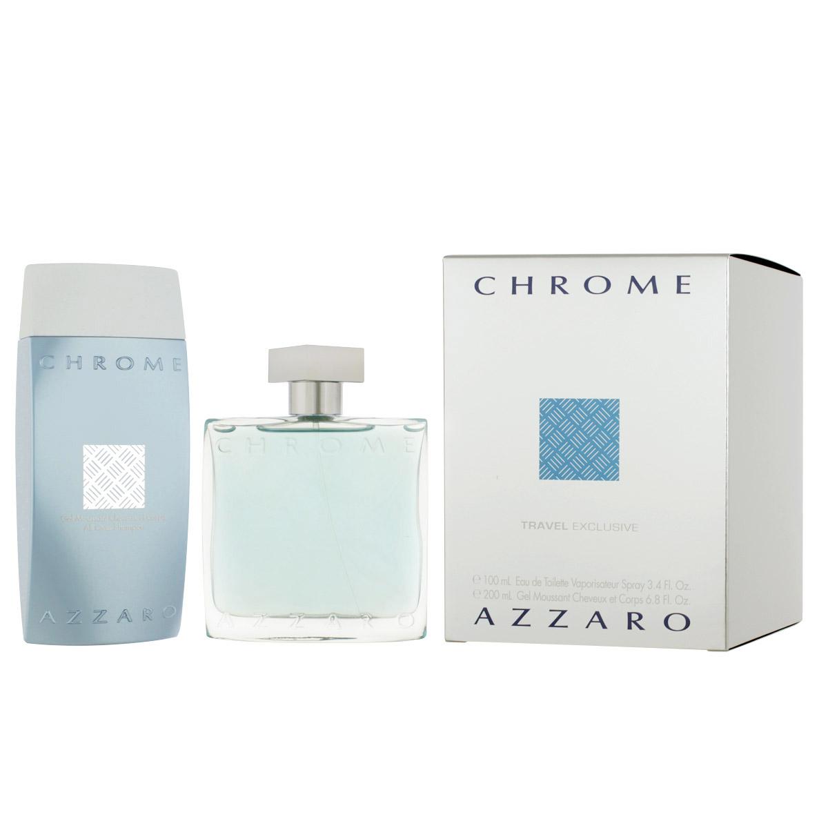 Azzaro Chrome pour Homme EDT 100 ml + SG 200 ml M
