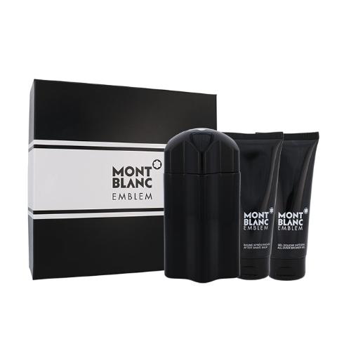 Mont Blanc Emblem EDT 100 ml + ASB 100 ml + SG 100 ml M