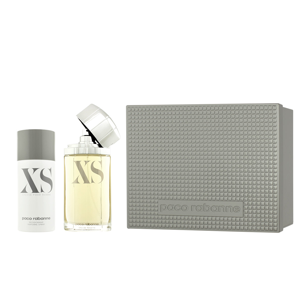 Paco Rabanne XS EDT 100 ml + DEO ve spreji 150 ml M