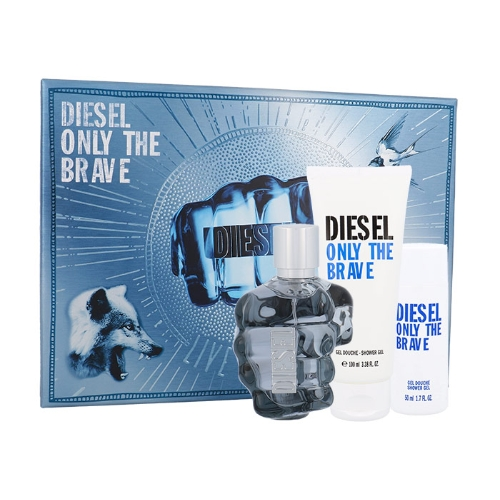 Diesel Only the Brave EDT 75 ml + SG 100 ml + SG 50 ml M