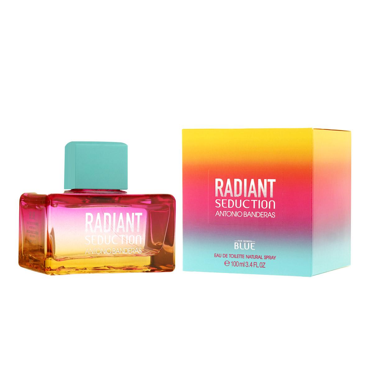 Antonio Banderas Radiant Seduction Blue For Women EDT 100 ml W