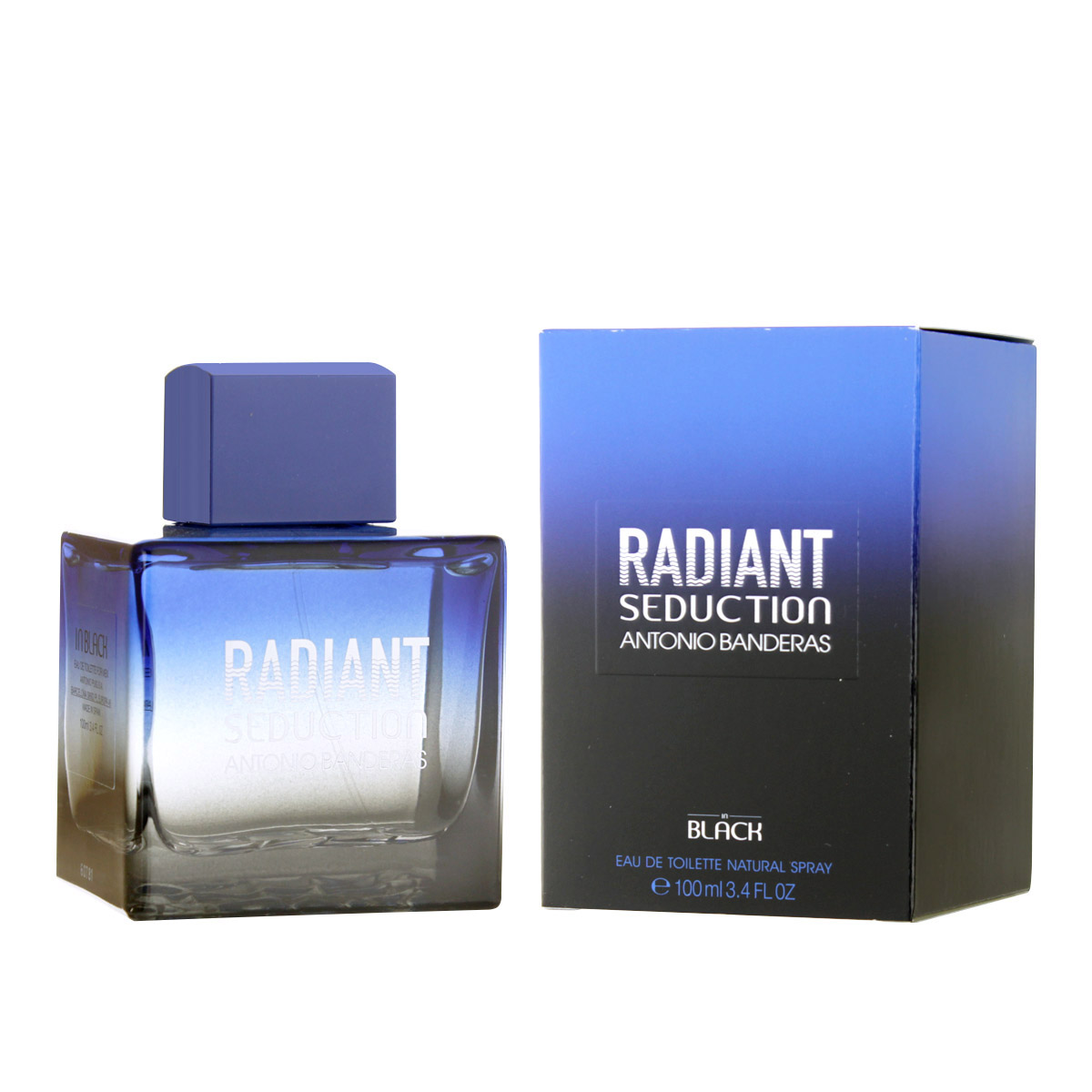 Antonio Banderas Radiant Seduction in Black EDT 100 ml M