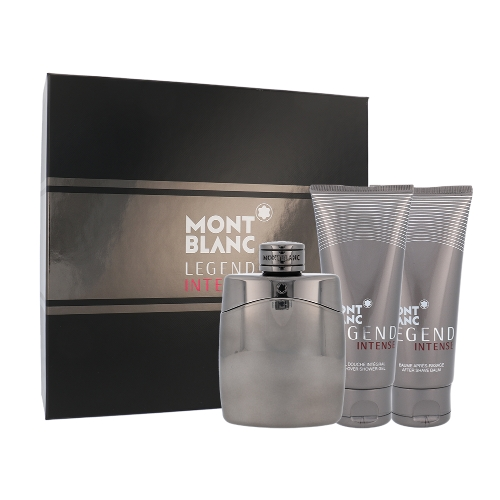 Mont Blanc Legend Intense EDT 100 ml + ASB 100 ml + SG 100 ml M