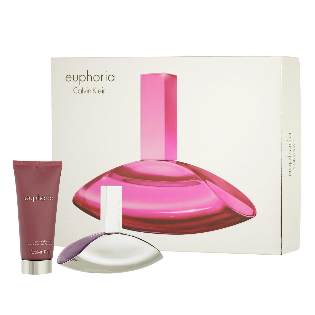 Calvin Klein Euphoria for Women EDP 100 ml + BL 100 ml W